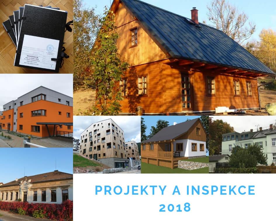 Projekty a inspekce 2018