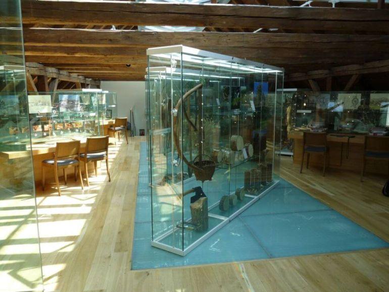 sýpka Muzeum orlických hor interiér