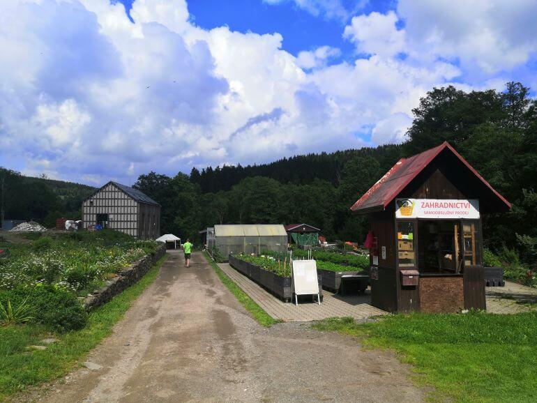 zahradnictví a pivovar Neratov