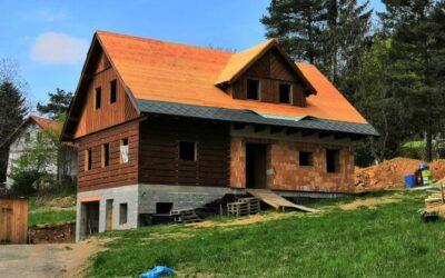 Stavba roubenky – 6. část | Suterén